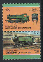 UNION ISLAND LOCO 100 9400 CLASS LOCOMOTIVE UK STAMPS MNH