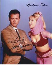 I Dream of Jeannie (Larry Hagman & Barbara Eden) signed authentic 8x10 photo COA