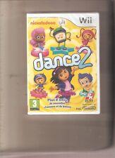 Rare ! NICKELODEON DANCE 2 avec DORA Un Jeu de Danse Fantastique. Wii/Wiiu NEUF