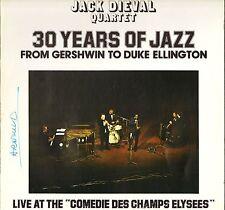 "JACK DIEVAL QUARTET, BENNY BAILEY, ROGER GUERIN ""LIVE"" JAZZ DOUBLE LP 1976"