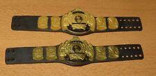 WWE Mattel Lot of 2 Winged Eagle Title Belts for Wrestling Figures WWF Lot