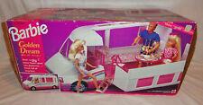 Vintage 1988 Barbie Golden Dream Motor Home #2555 Nrfb