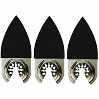 3 x Oscillating Tool Finger Sanding Pads - Bosch Multi-X Compatible