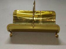 Vintage Fireplace Log Holder (Brass)