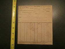 International Harvester Company of America 1910 invoice Letterhead 484