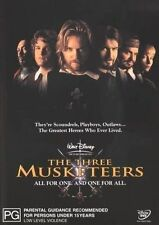 The Three Musketeers (1993) * NEW DVD * Charlie Sheen Keifer Sutherland Chris O