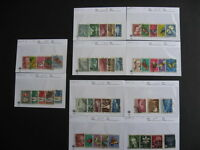 Sales Card/Glassine hoard breakdown SWITZERLAND U part6 all different,unverified