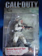"""Call of Duty - British Special Ops - Battle for the Roer Triangle - 6"""" Figure"""