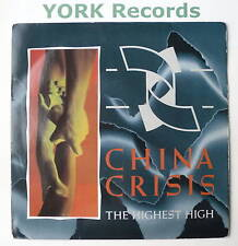 """CHINA CRISIS - The Highest High - Ex Con 7"""" Single"""
