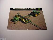 12 John Deere Drill & Planter Brochures, 200 Pages Total, Excellent Assortment #