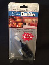 Westek Ec24B Low Voltage Halogen Dual Connector Cable