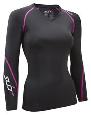 Elite Rx Womens Long Sleeve Compression Top Size S UK 8 rrp £40 DH079 ii 10