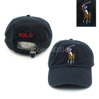 Polo RL Men's Women's Baseball Cap Big Pony Outdoor Sports Hat Tennis Unisex New