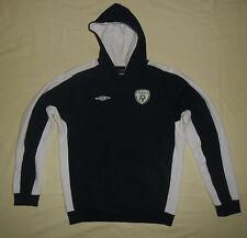 Republic of Ireland / UMBRO - JUNIOR hooded Top / Sweatshirt (Hoodie). Size: XLB