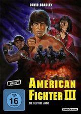 American Fighter 3 - Die blutige Jagd ( Action Kult UNCUT )mit David Bradley NEU