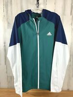 Adidas Men's Windbreaker Track Jacket Size L NWOT