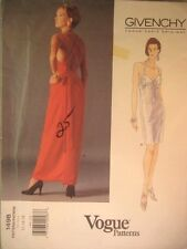Vogue Paris Original Pattern 1498 Givenchy