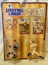 Starting Lineup Babe Ruth Lou Gehrig Joe DiMaggio Mantle Baseball Greats 1989