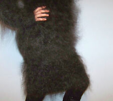 FURRY MOHAIR Skirt Long Hair Fuzzy Soft 100% Goat Fluff / Down fetish