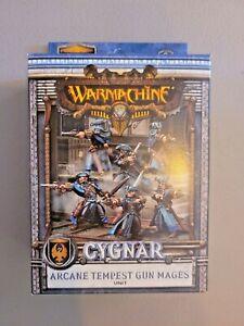 Warmachine - CYGNAR Arcane Tempest Gun Mages Unit - New in Box