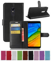 For Xiaomi Redmi 5 + Note 6 Pro 5A A2 F1 Magnetic Leather Wallet Flip Case Cover
