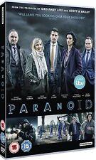 PARANOID 1 (2016): ITV / Netflix, Crime Drama TV Season Series - NEW  DVD UK