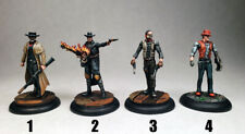 Cowboy characters Malifaux / necromunda 40k RPG warriors / Painted Wyrd minis