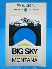 "VINTAGE... ""MONTANA STATE""  STICKER / DECAL... (BIG SKY COUNTRY).... L@@K"