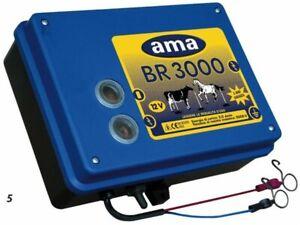 Électrificateur AMA pour clôtures 3 J 12 V- maxi : 15 km