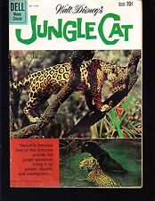 4-COLOR  JUNGLE CAT  #1136  DELL 1960 VG  MOVIE/TV...PHOTO-c  WALT DISNEY