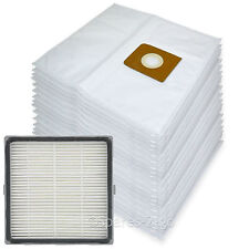20 Cloth Bags + H13 HEPA Filter for Nilfisk King GM500 GM510 GM520 GM530 Vacuum