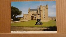 Postcard unposted Caithness, The Royal castle of Mey