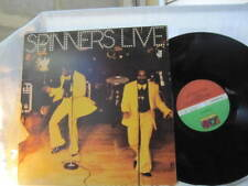 SPINNERS  LIVE  DOUBLE VINYL RECORD LP 12""