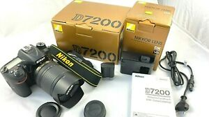 Nikon D7200 KIT Nikkor AF-S DX 18-140mm f/3.5-5.6 G ED VR - NEUWERTIG