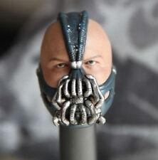 1/6 The Dark Knight Rises Batman Bain head sculpture for 12'' male body figure