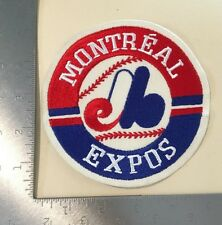 """Montreal Expos 5"""" Round MLB Baseball Vintage Patch"""