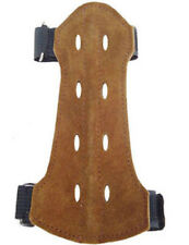 Suede Leather Arm Guard  Size:14cm Long x 7cm Archery Product AG-215B.YOUTH