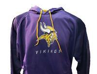 Minnesota Vikings Purple Pullover Hoodie Mens NFL Majestic Big & Tall Size nwt