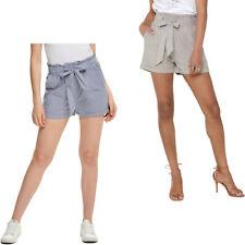 ONLY Damen ONLSMILLA Belt DNM Shorts, kurze Hose Mehrfarbig 15154906