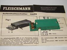 FLEISCHMANN ( 6953 ) TEMPO D'ARRET DE TRAIN  REGLABLE   HO OU N