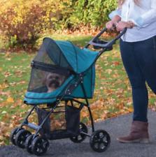 NEW Pet Gear Happy Trails Lite No-Zip Green Small Pet (25lbs) Stroller