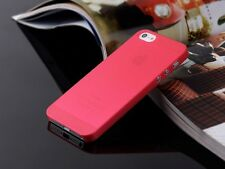 10 Colors For iPhone 5 5S Ultra Thin 0.3mm Back Hard Case Cover Skin New Cool