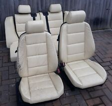 bmw e36 coupe cream interior seats rear headrests