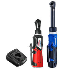 "Acdelco G12 12V 1/4"" & 3/8"" Cordless Ratchet Wrenches, ft-lbs, Arw1218-K18"