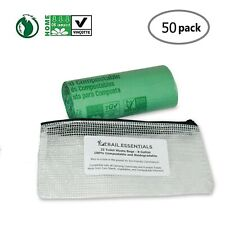 Trail Essentials Toilet Bags, Certified Biodegradable and Compostable; Use an...