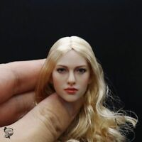 """KIMI TOYS 1/6 Carving Golden Hair Female Head Sculpt F 12"""" Action Figures Body"""