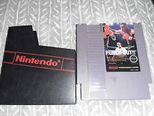 Mike Tyson's Punch-Out (Nintendo Entertainment System, 1987) Authentic