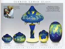 Pilgrim Cameo Glass catalogs pages on DVD, 1986-2002