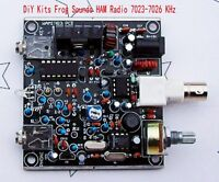 DiY Kits Frog Sounds HAM Radio QRP Telegraph CW Transceiver Radio Station V3