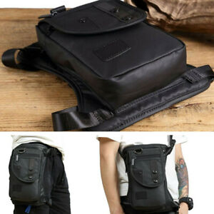 Black Waist Pack Outdoor Waterproof Tactical Bag Camping Military Portable Bag